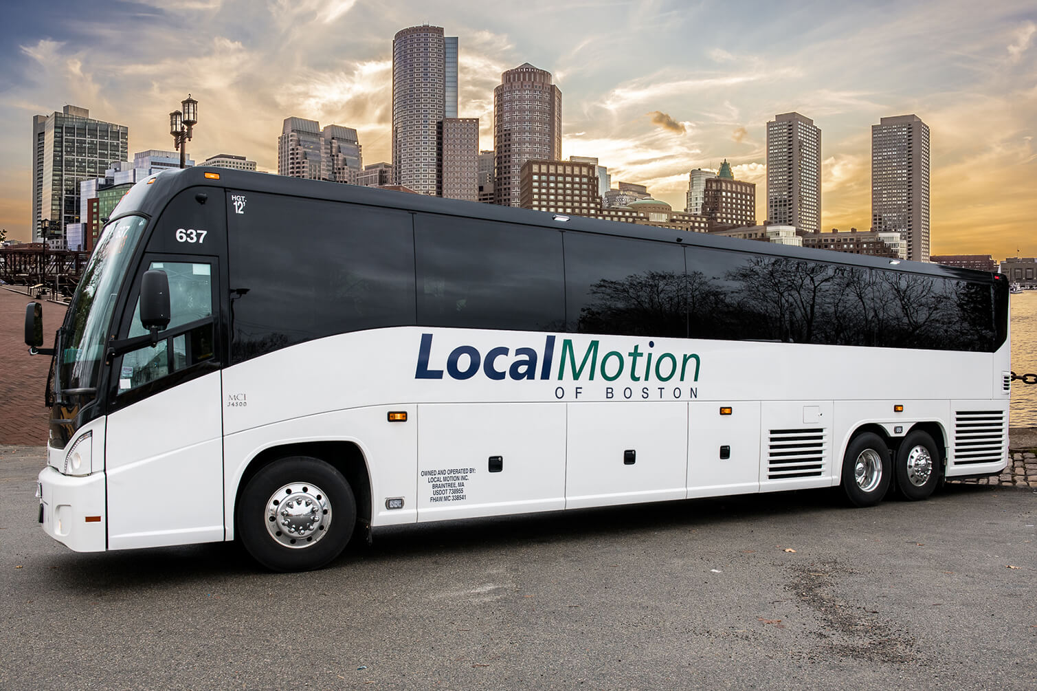 Local Motion of Boston: Charter Bus and Shuttle Bus Rental