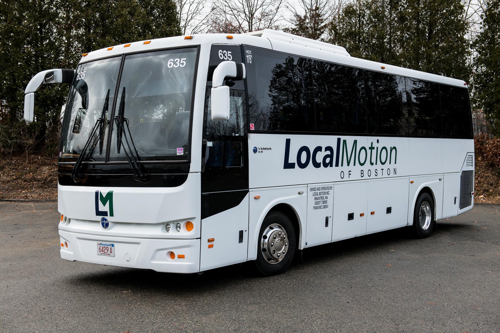 Best Motor Coach Services Around Boston