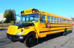 Large School Buses For Off-Peak Hours Field Trips