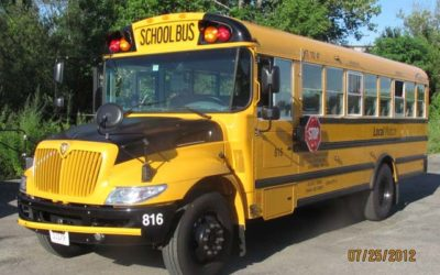 School has Started with Our New Mid Sized School Bus