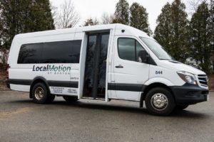 shuttle van in boston area