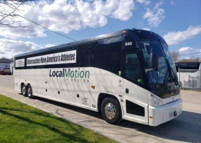 Charter Bus Boston