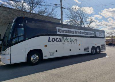 Charter Bus in Boston