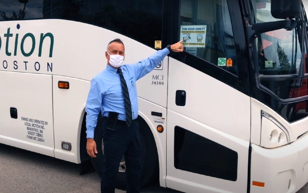 How We're Keeping You Safe On Your Next Chartered Bus Trip